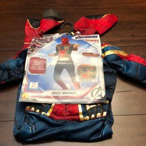 Spider-Man padded costume. Size s. New. Inseam 17
